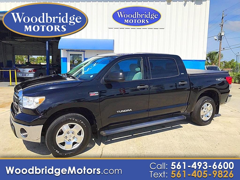 2010 Toyota Tundra 2WD Truck CrewMax 5.7L V8 6-Spd AT  (Natl)