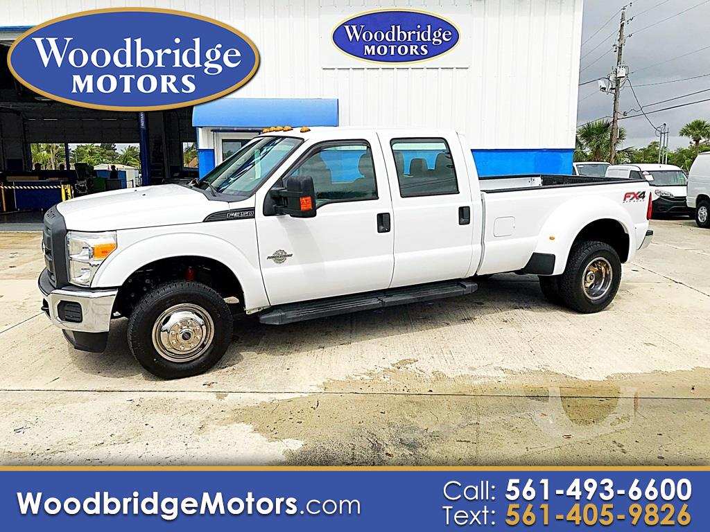"2013 Ford Super Duty F-350 DRW 4WD Crew Cab 172"" XL"
