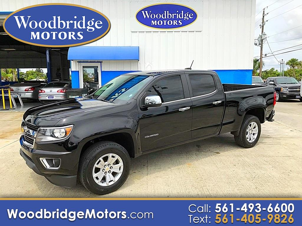 "2015 Chevrolet Colorado 2WD Crew Cab 140.5"" LT"