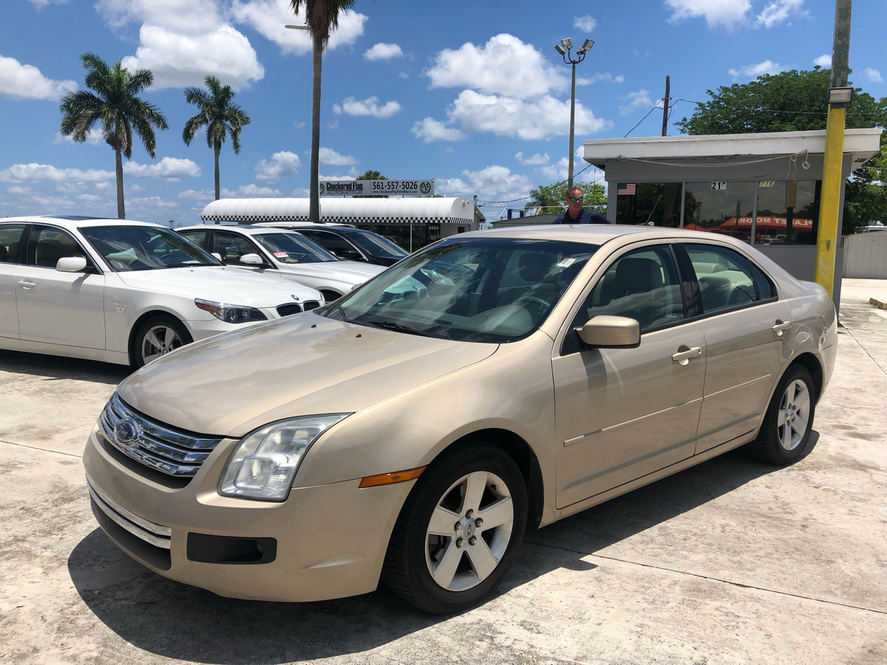 2007 Ford Fusion 4dr Sdn V6 SE FWD