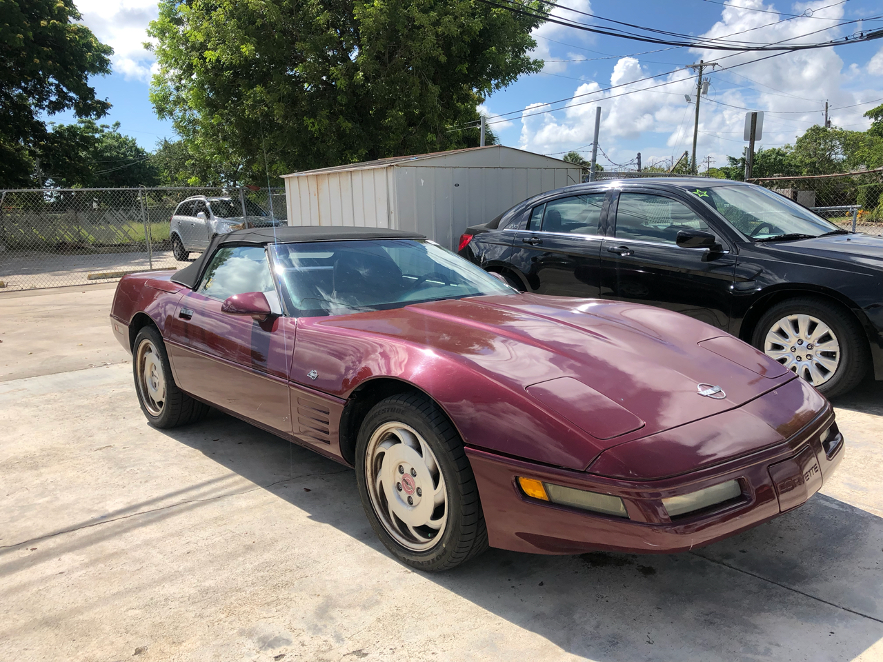 1993 Chevrolet Corvette 2dr Convertible