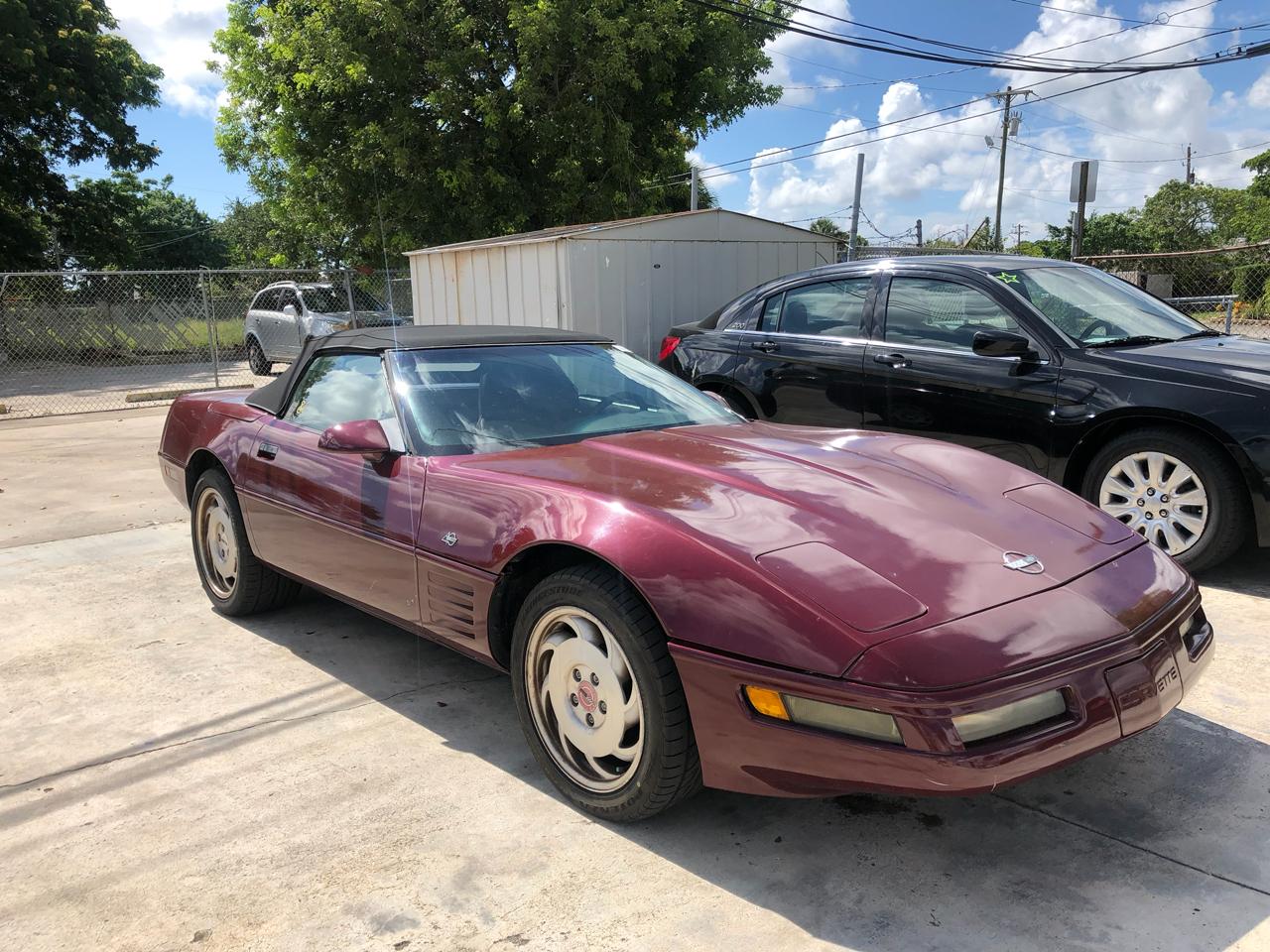 1993 Chevrolet Corvette 2dr Conv w/2LT