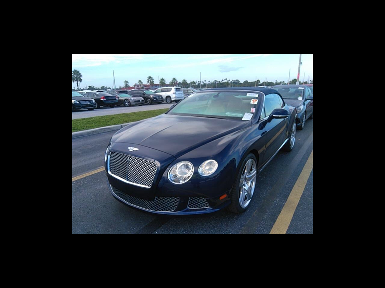 2012 Bentley Continental GT 2dr Conv