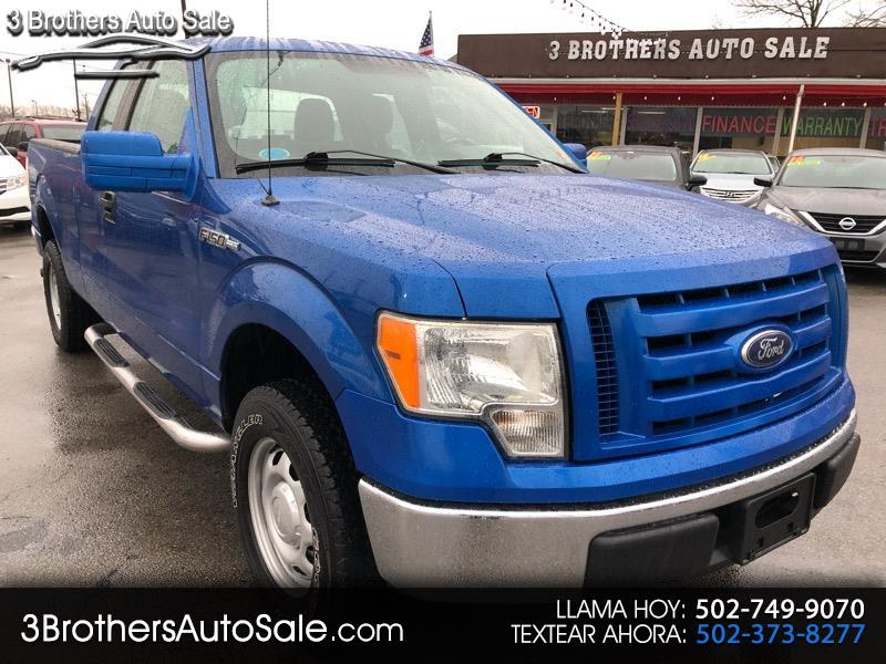 2010 Ford F-150 XL SuperCab 8-ft. Bed 4WD