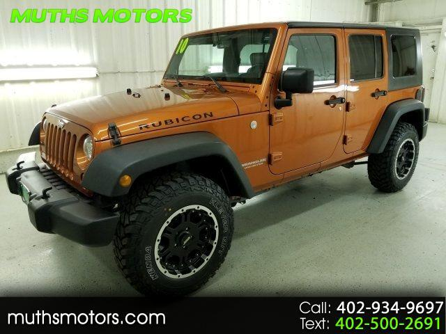 2010 Jeep Wrangler Unlimited Rubicon 4WD ***NEW MUD TIRES!!***