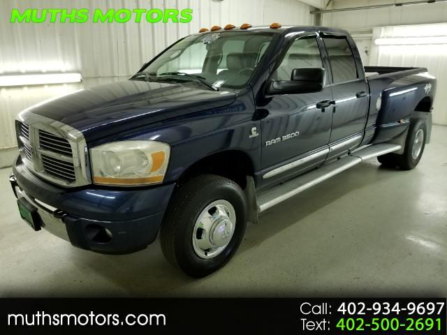 2006 Dodge Ram 3500 Laramie Quad Cab Long Bed DRW ***CUMMINS DIESEL-ON
