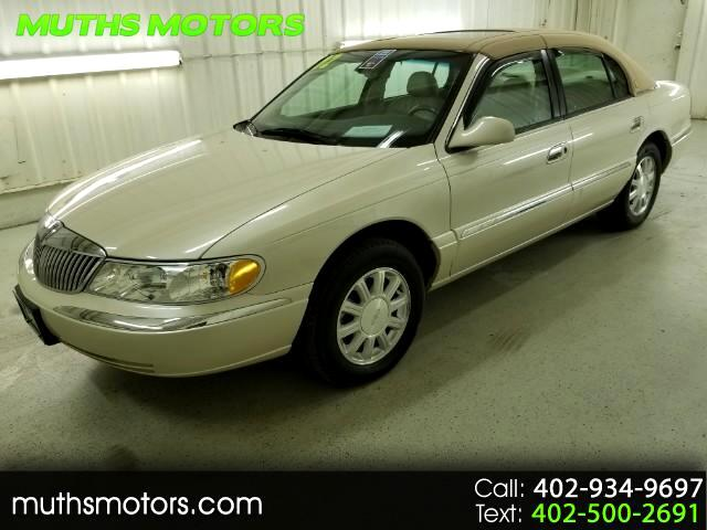 2002 Lincoln Continental ****VERY LOW MILES!!!****