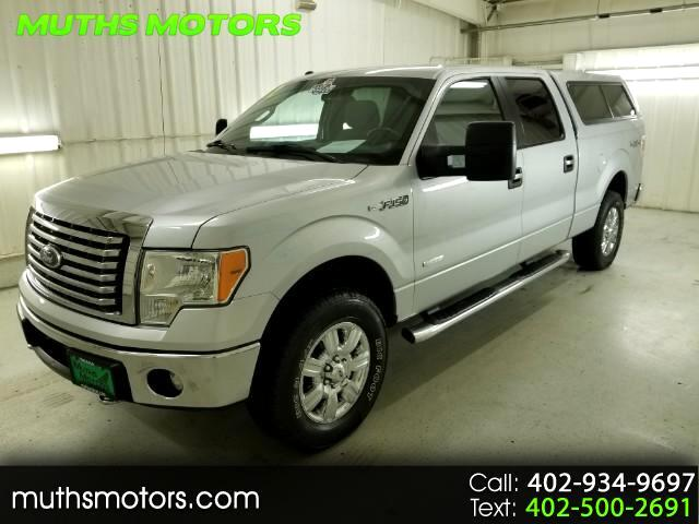 2012 Ford F-150 xlt SuperCrew 6.5ft Bed 4WD ***EcoBoost-ONE OWNER!
