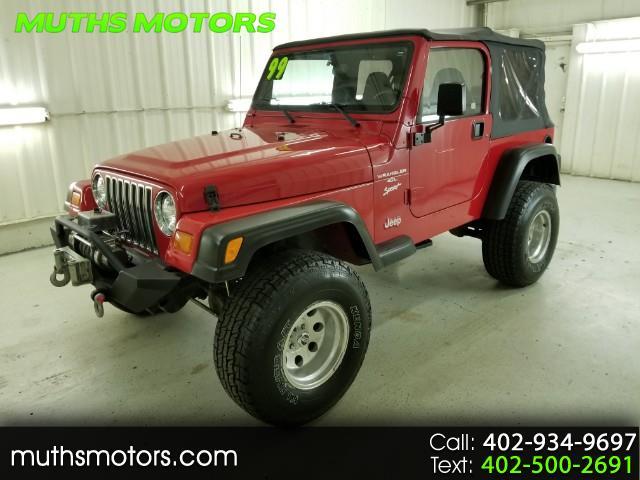 1999 Jeep Wrangler Sport ***LIFTED - WARN WINCH!!***