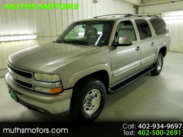 2001 Chevrolet Suburban K2500 4WD