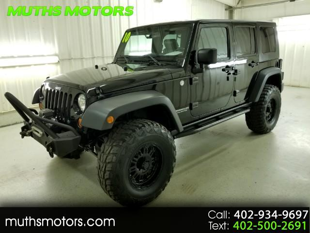 2010 Jeep Wrangler Unlimited Rubicon 4WD