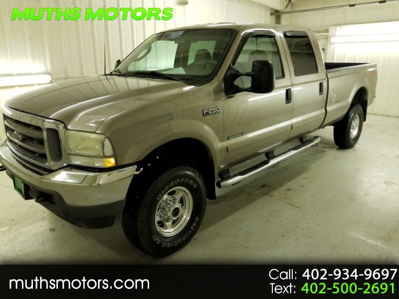 2003 Ford F-250 SD Lariat Crew Cab Long Bed 4WD 7.3 Powerstroke