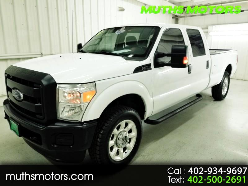 2015 Ford F-250 SD XL Crew Cab Long Bed 4WD