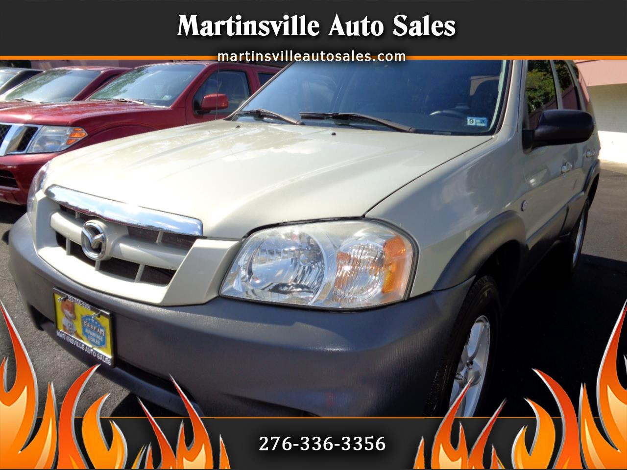 2005 Mazda Tribute i 2WD 4-spd AT