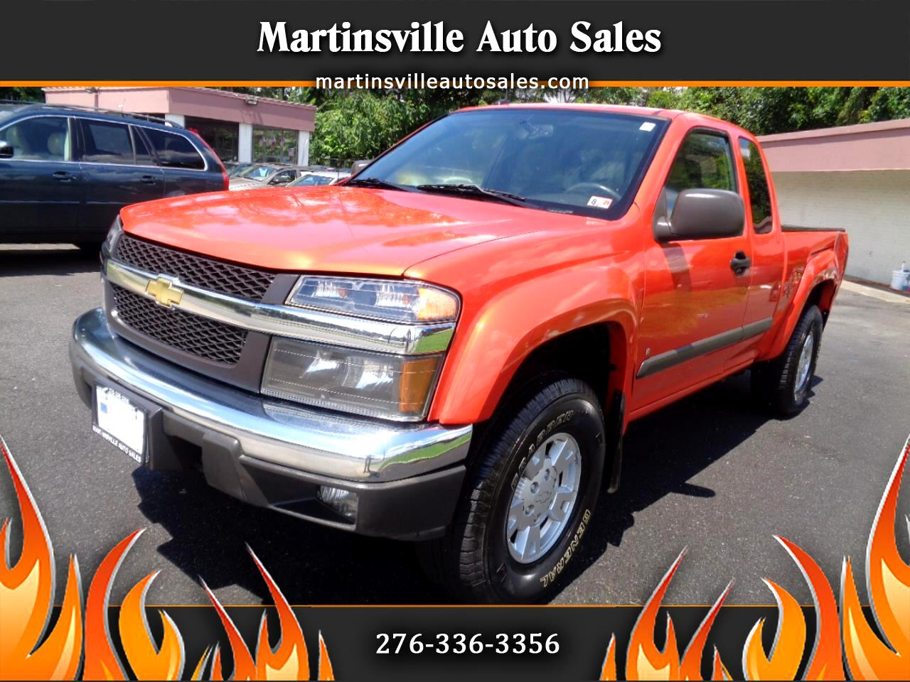 Chevrolet Colorado Work Truck Ext. Cab 4WD 2008