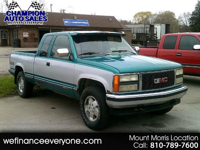 1993 GMC Sierra C/K 1500 Club Coupe 6.5-ft. Bed 4WD