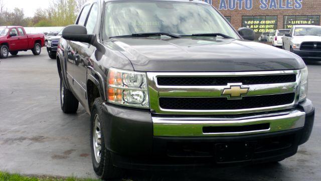 2010 Chevrolet Silverado 1500 LS Crew Cab 4WD