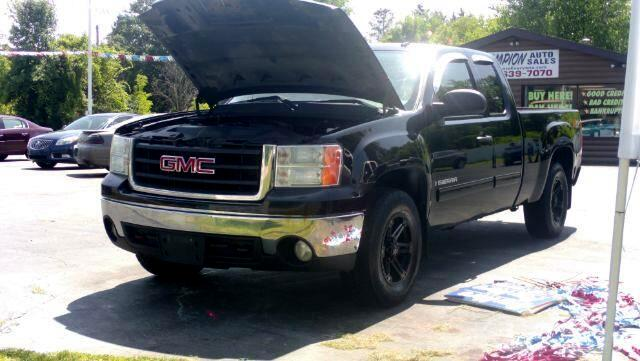 2008 GMC Sierra 1500 SLE2 Ext. Cab Long Box 4WD