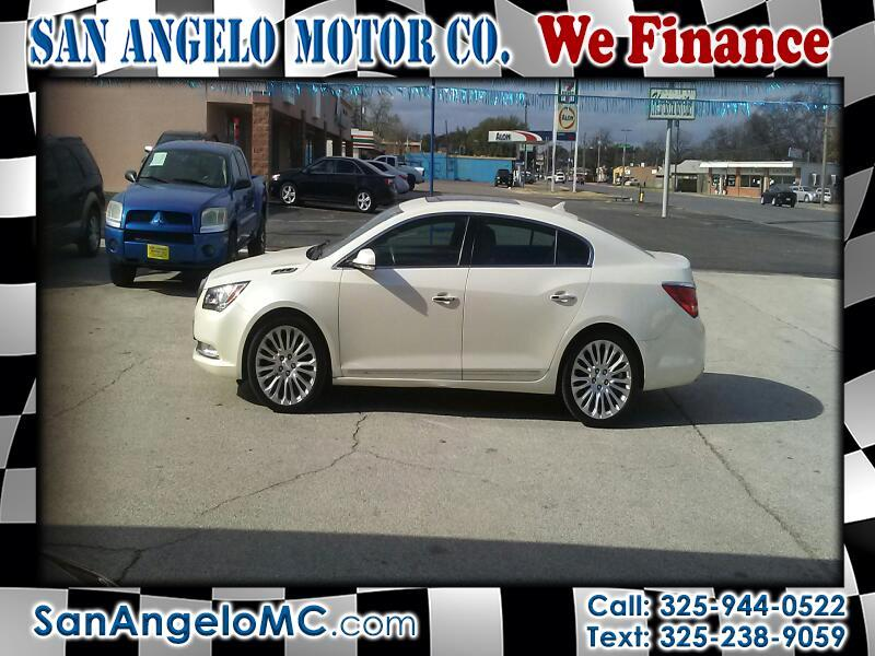 2014 Buick LaCrosse Premium Package 2, w/Leather