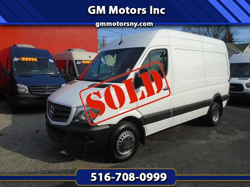 2017 Mercedes-Benz Sprinter Cargo Van 3500 High Roof V6 144