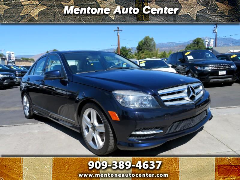 Mercedes-Benz C-Class 4dr Sdn C 300 Luxury 4MATIC 2011