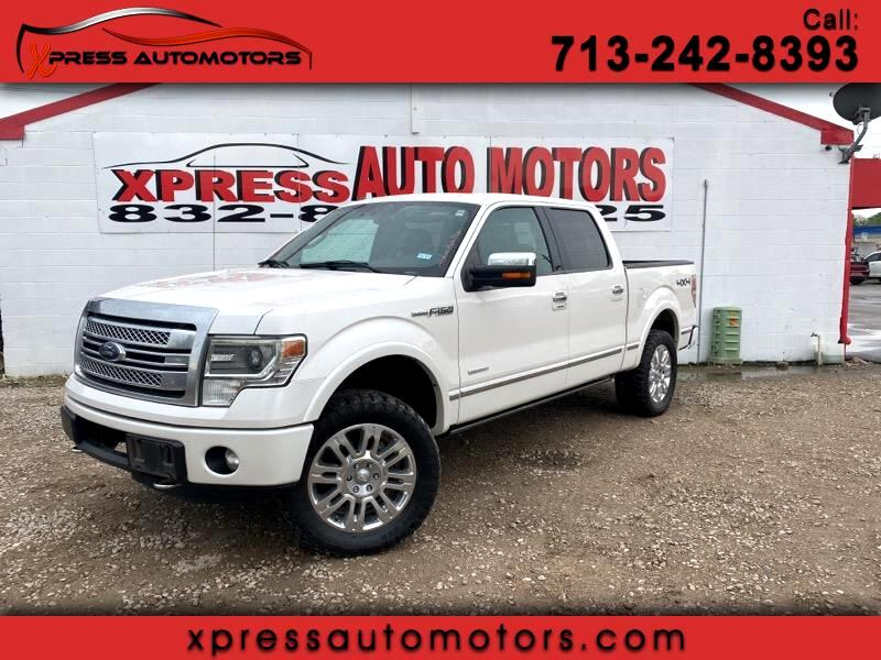 Ford F-150 Platinum 4x4 Short Bed 2013