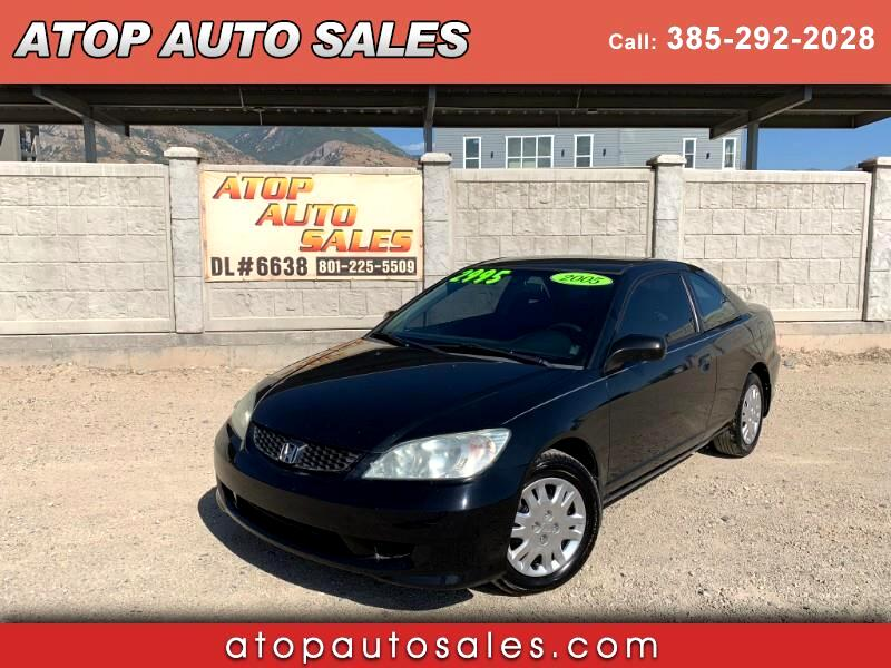 2005 Honda Civic LX Coupe AT
