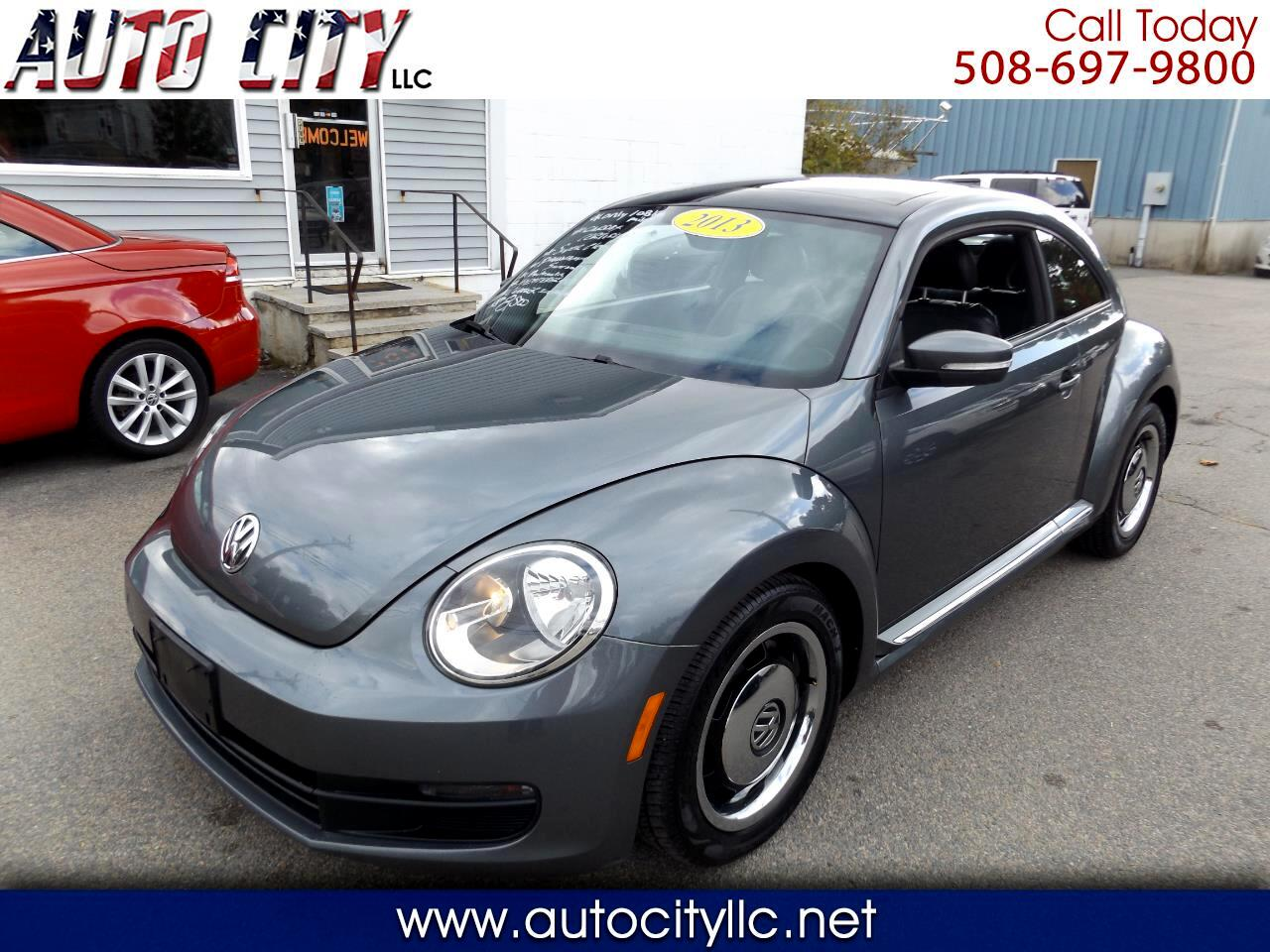 2013 Volkswagen Beetle 2.5L w/Sunroof and sound package