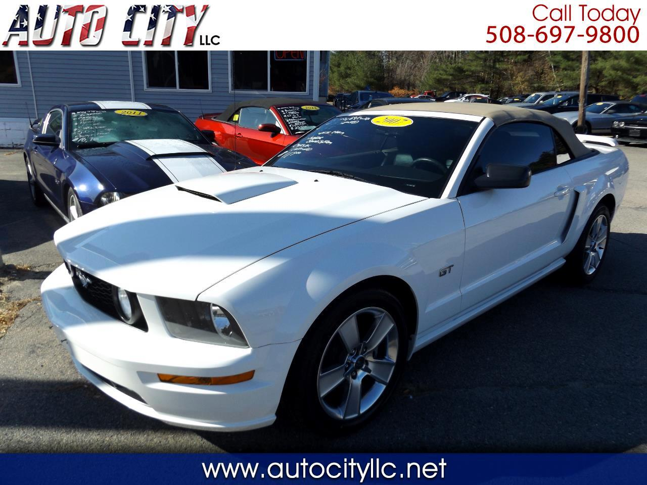 Ford Mustang GT Premium Convertible 2007