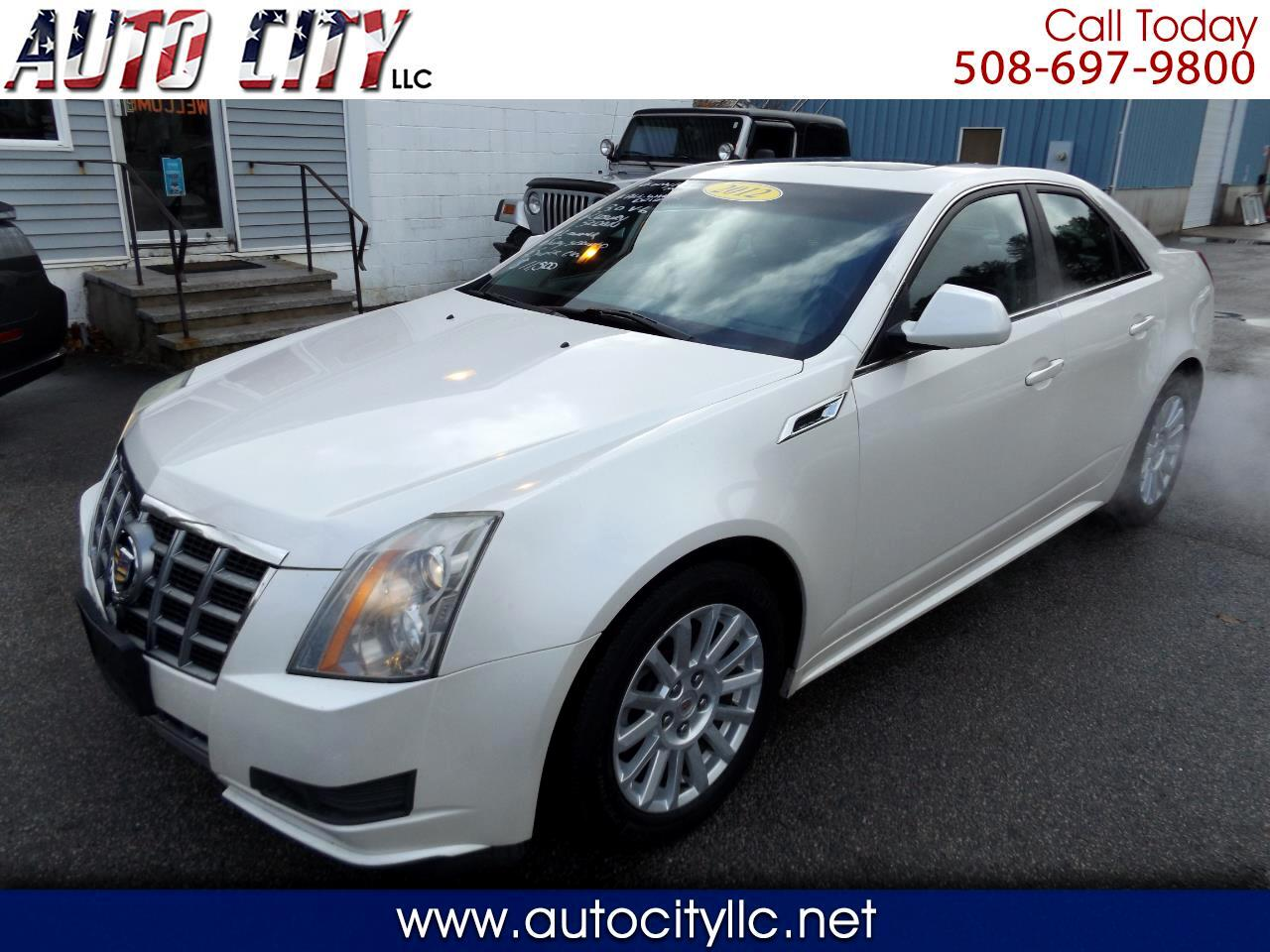 Cadillac CTS Base AWD 2012