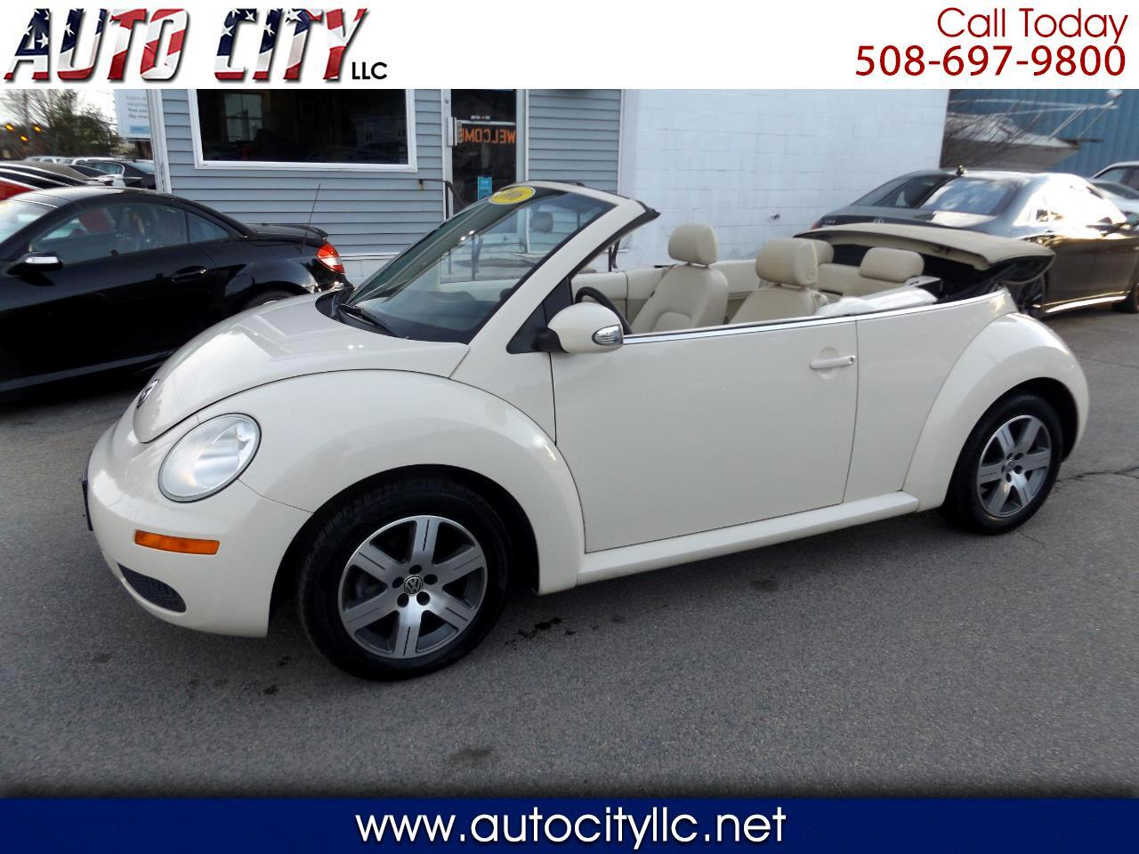 Volkswagen New Beetle 2.5L Convertible 2006