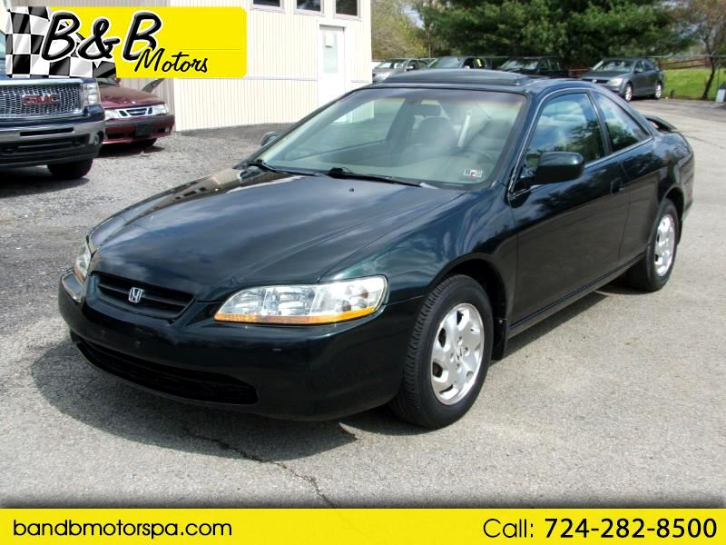 Honda Accord EX coupe 1999