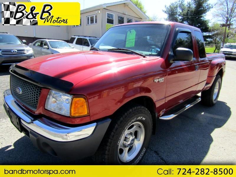 Ford Ranger XLT SuperCab 4.0 Flareside w/Off-Road 4WD 2001