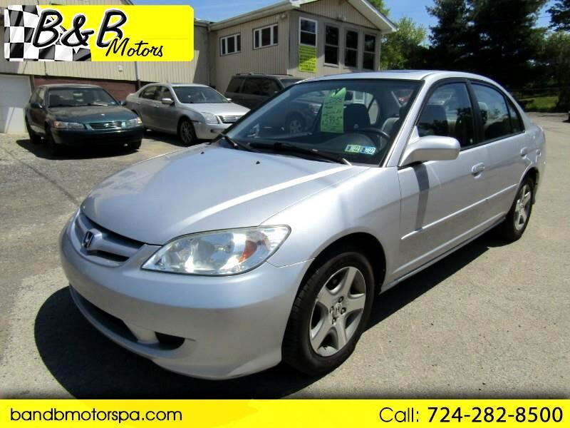 Honda Civic EX sedan AT 2005