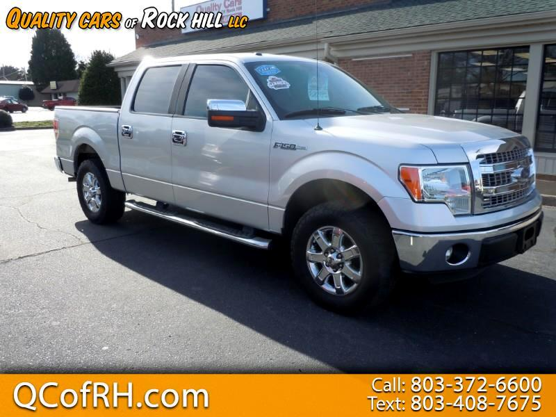 "2013 Ford F-150 2WD SuperCrew 150"" XLT"