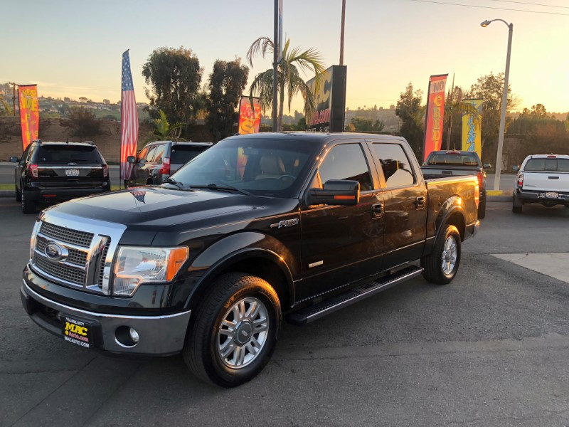 2011 Ford F-150 Lariat SuperCab 5.5-ft Box 2WD