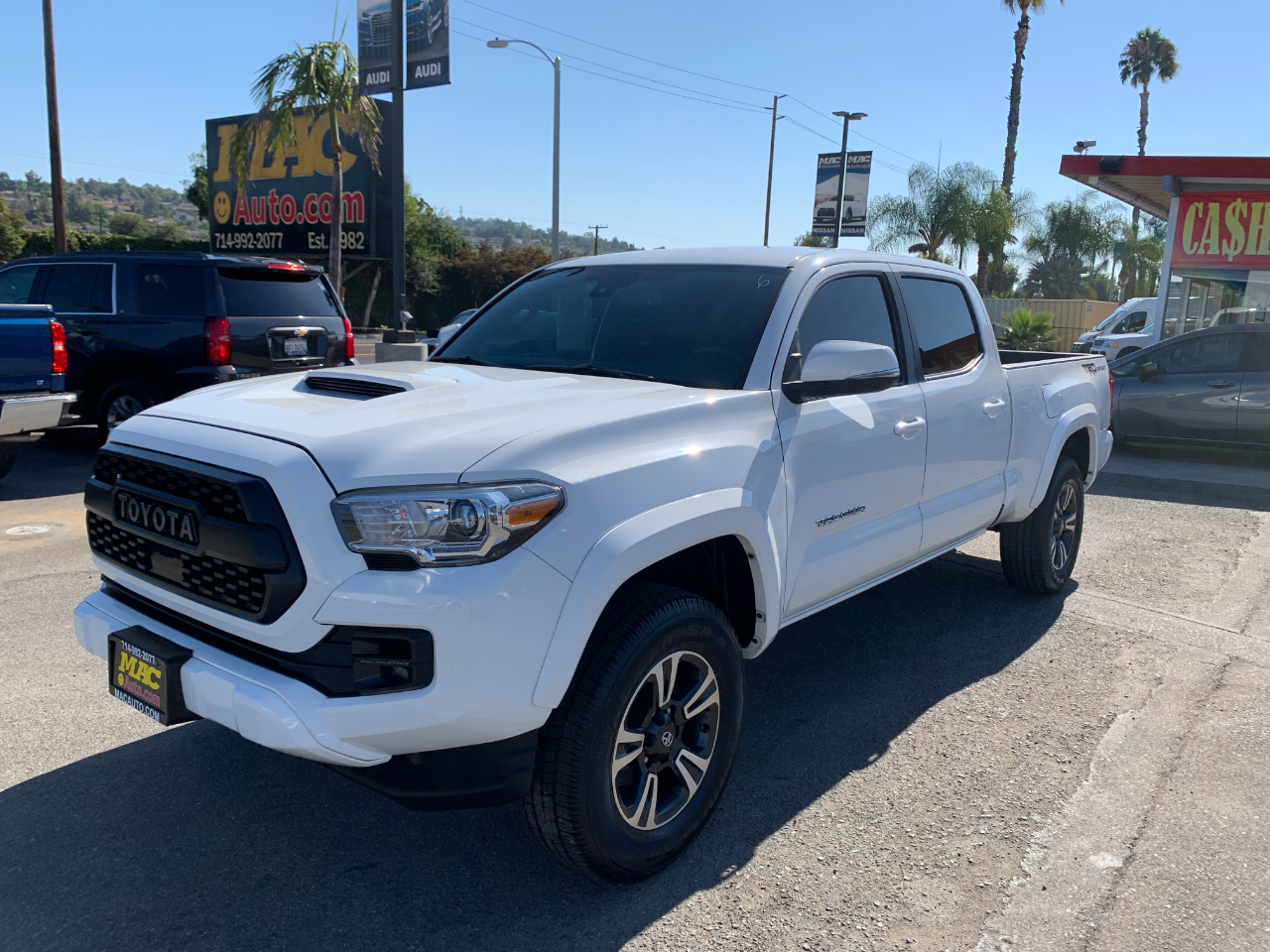 2018 Toyota Tacoma SR5 Double Cab Super Long Bed V6 6AT 2WD