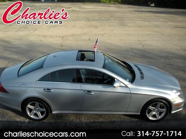 2008 Mercedes-Benz CLS-Class CLS550 4-Door Coupe