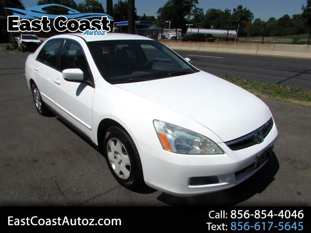 2006 Honda Accord LX sedan AT