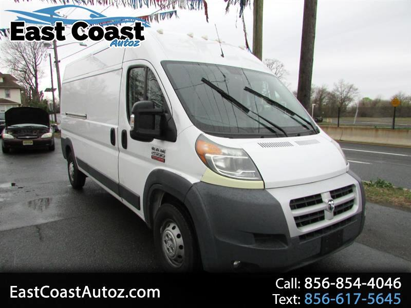 2014 RAM Promaster 2500 High Roof Tradesman 159-in. WB