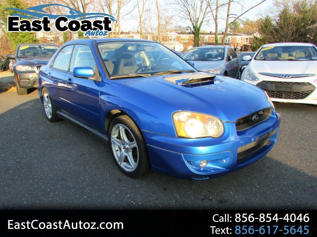 Subaru Impreza Sedan (Natl) 2.0 WRX Auto w/Premium Pkg 2004