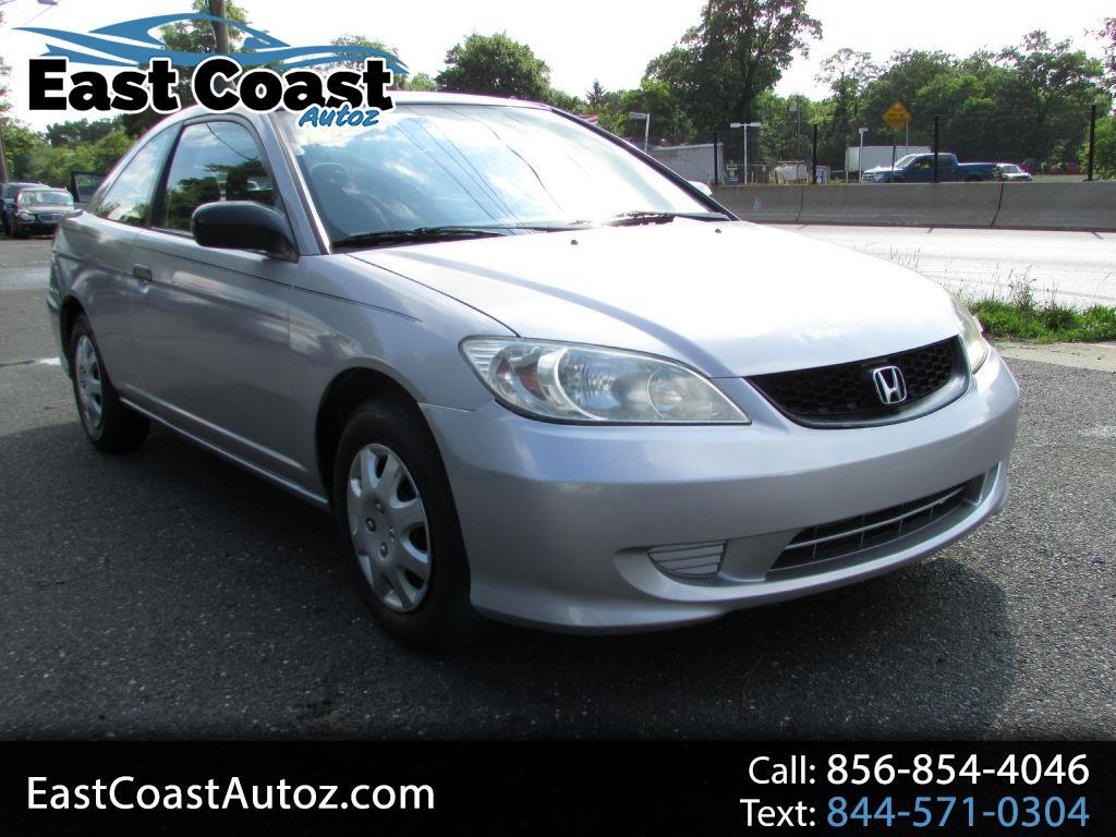 Honda Civic 2dr Cpe VP Auto w/Side Airbags 2004