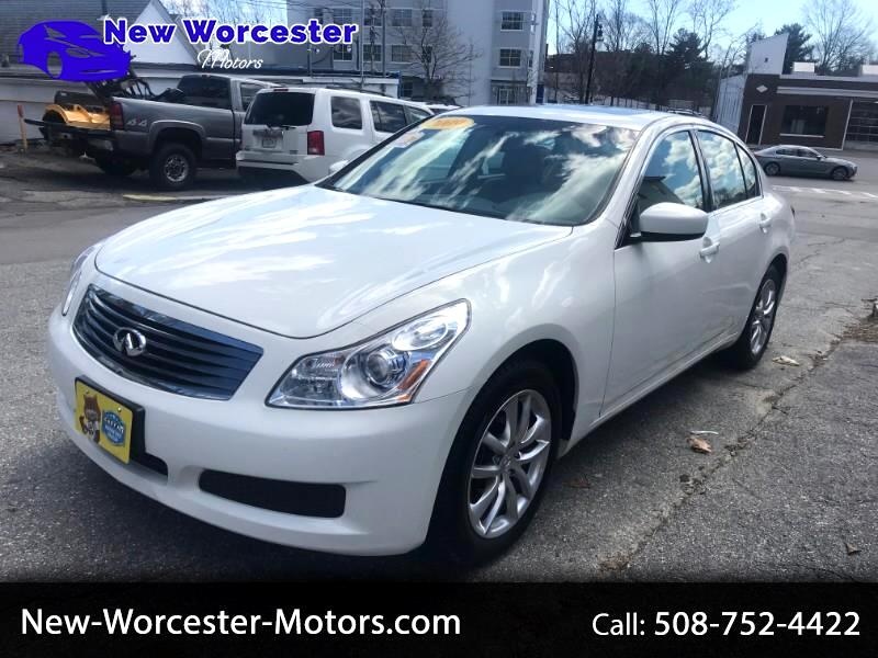 2009 Infiniti G Sedan G37x AWD w/Navigation