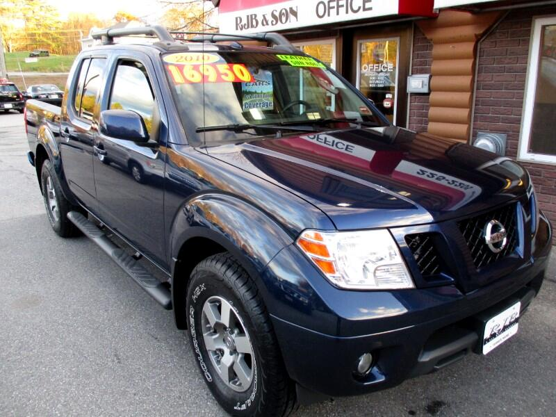 2010 Nissan Frontier 4WD PRO-4X CREW