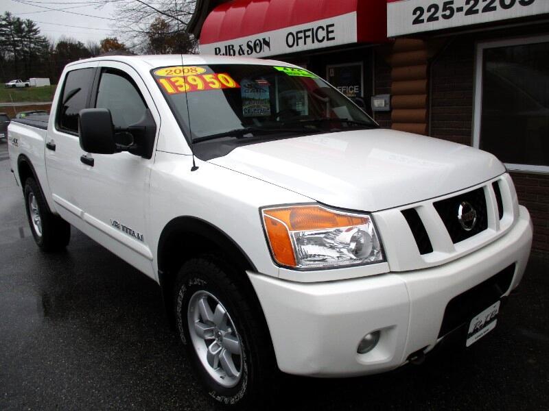 2008 Nissan Titan PRO-4X Crew Cab 4WD