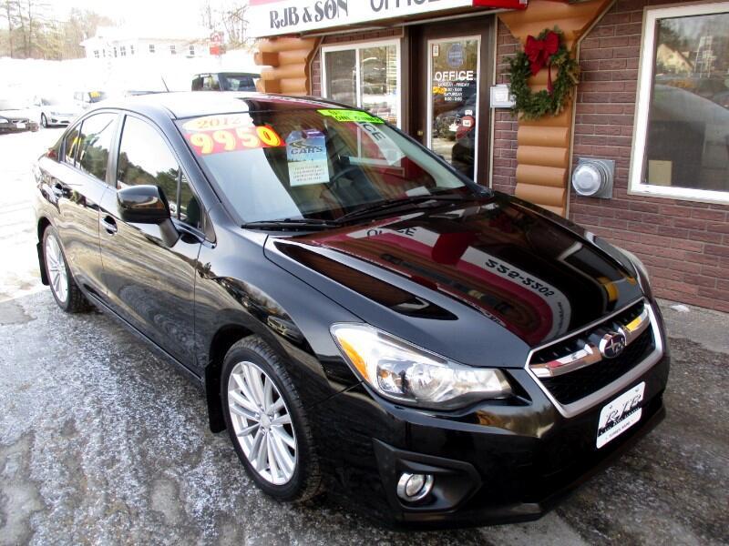 2012 Subaru Impreza Limited 4-Door+S/R+NAVI