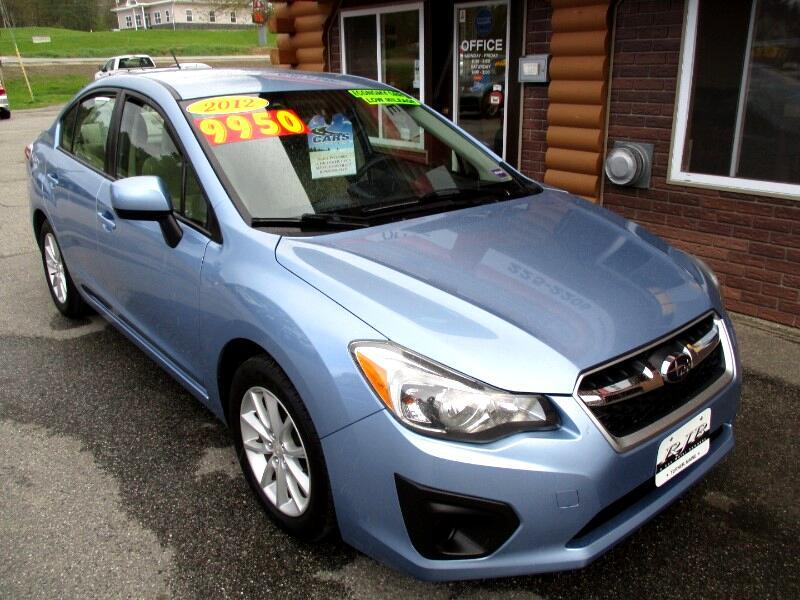 2012 Subaru Impreza 2.0i Premium PZEV 4-Door