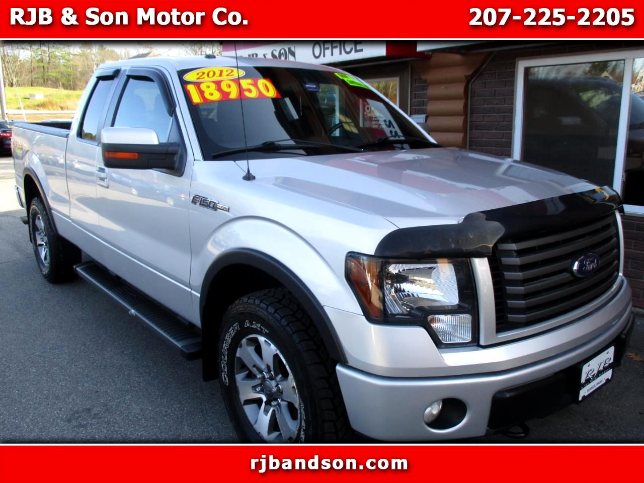 Ford F-150 FX4 SuperCab 4WD 2012