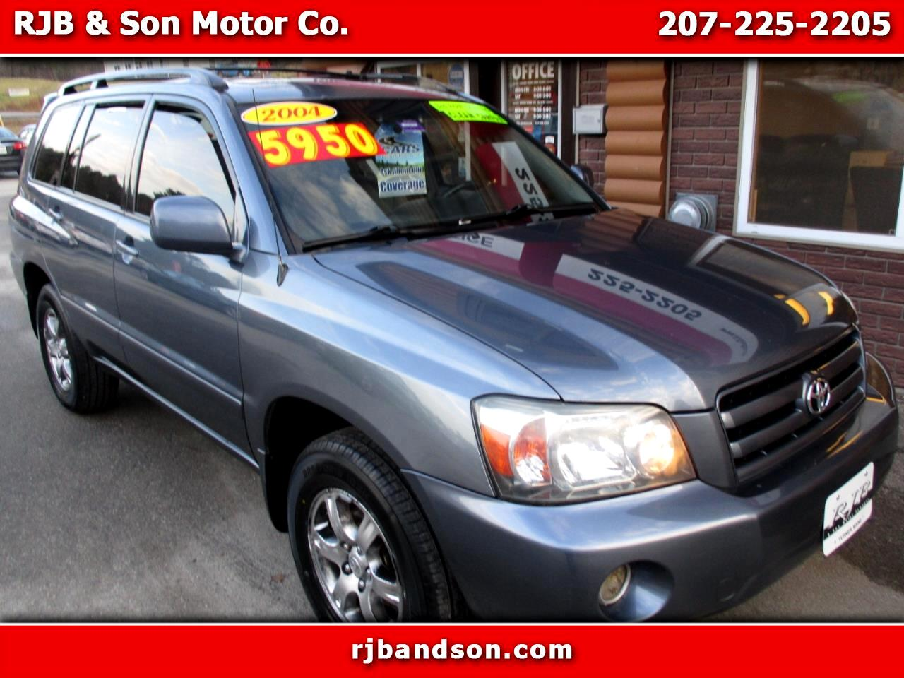 Toyota Highlander V6 4WD with Third Row Seat 2004