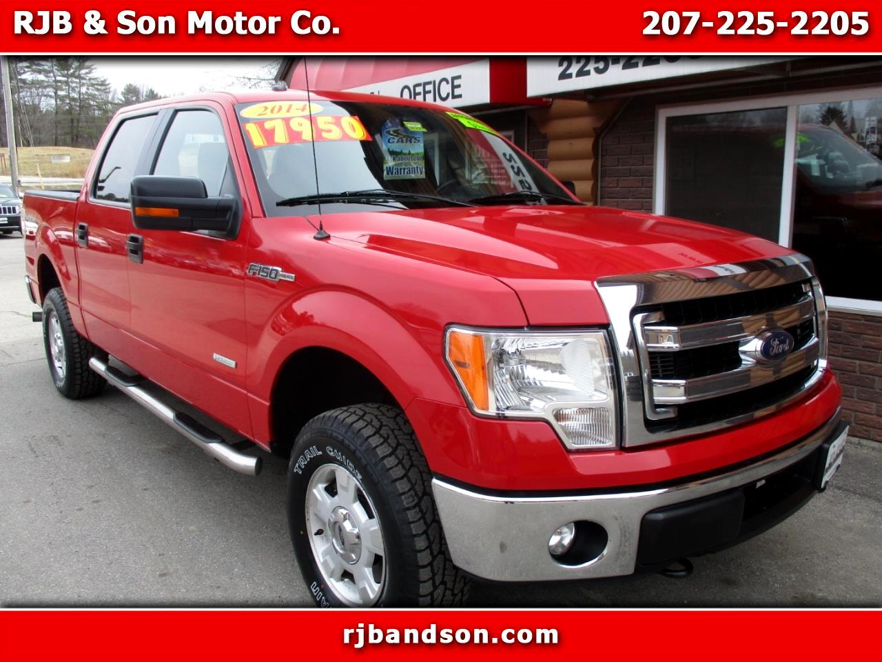 Ford F-150 XLT 4WD SuperCrew 5.5' Box 2014
